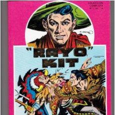 Cómics: * RAYO KIT * URSUS EDICIONES 1982 * TOMO 12 Nº COMPLETA RETAPADO IMPECABLE *. Lote 205531901