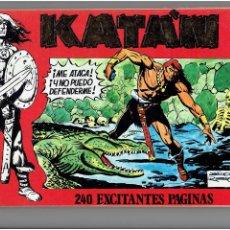 Cómics: * KATAN * URSUS EDICIONES 1980 * LOTE DE Nº 7 / 8 / 9 / 10 / RETAPADOS *. Lote 205573518