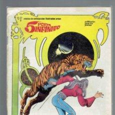 Cómics: 5 POR INFINITO 3 COMICS N,4,5,6,RELATOS DE ANTICIPACION ILUSTRADOS URSUS 1981. Lote 206189747
