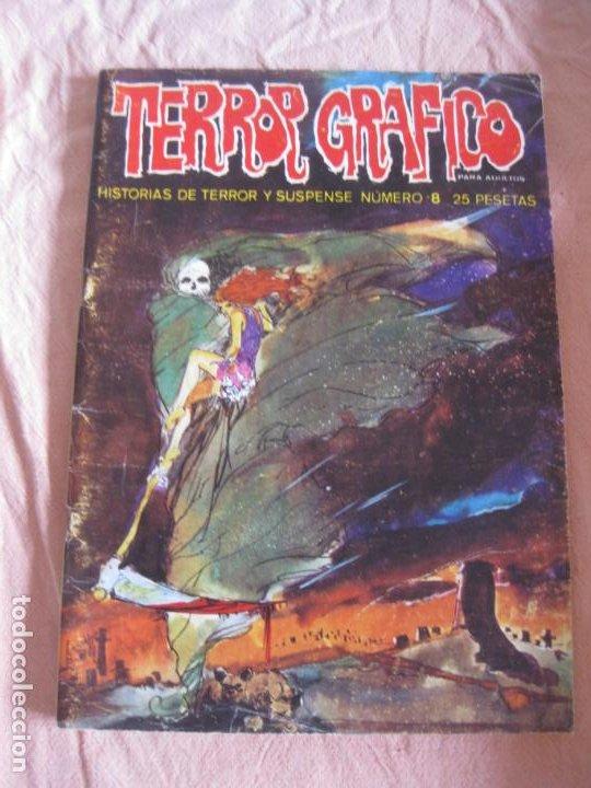 TERROR GRAFICO HISTORIA DE TERROR Y SUSPENSE Nº 8. URSUS EDICIONES. (Tebeos y Comics - Ursus)
