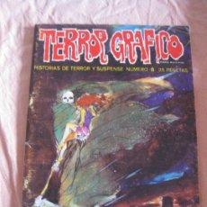 Cómics: TERROR GRAFICO HISTORIA DE TERROR Y SUSPENSE Nº 8. URSUS EDICIONES.. Lote 208156261