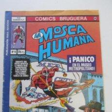 Fumetti: LA MOSCA HUMANA Nº 8 BRUGUERA PÁNICO EN EL MUSEO -CON EL TIGRE BLANCO- AÑO 1977 CX66. Lote 214571893