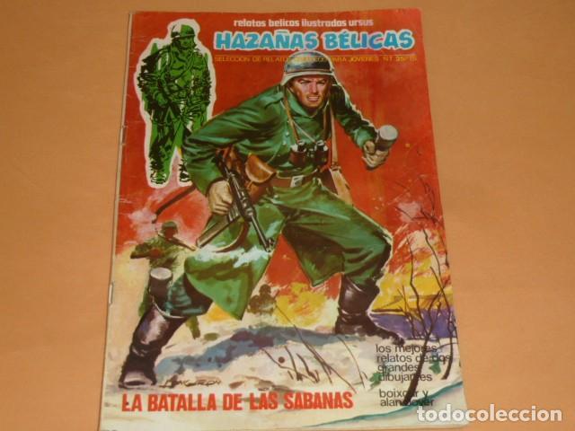 HAZAÑAS BÉLICAS. LA BATALLA DE LAS SÁBANAS Nº 7 (Tebeos y Comics - Ursus)
