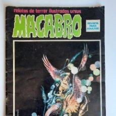 Cómics: MACABRO (1974, URSUS) 8 · 1974 · MACABRO. Lote 217037102