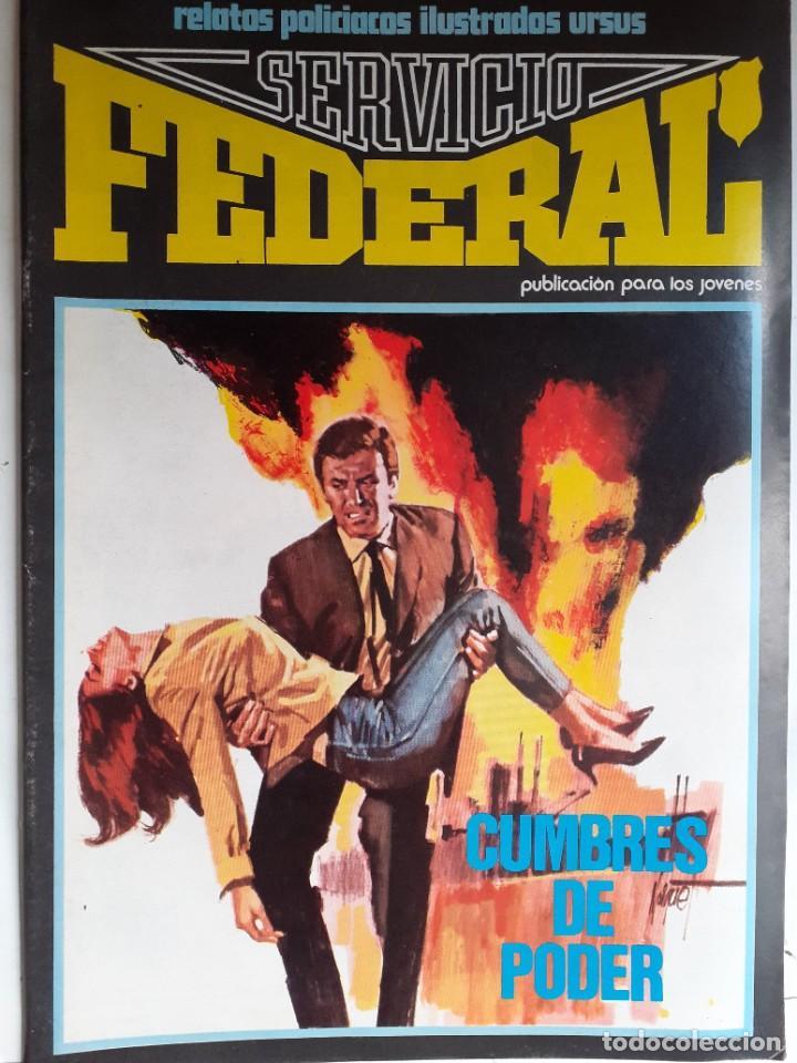 Cómics: SERVICIO FEDERAL-VOL-2- Nº 3 -CUMBRES DE PODER-1980-GRAN A.CARRILLO-MUY BUENO-DIFÍCIL-LEA-3722 - Foto 2 - 217946098