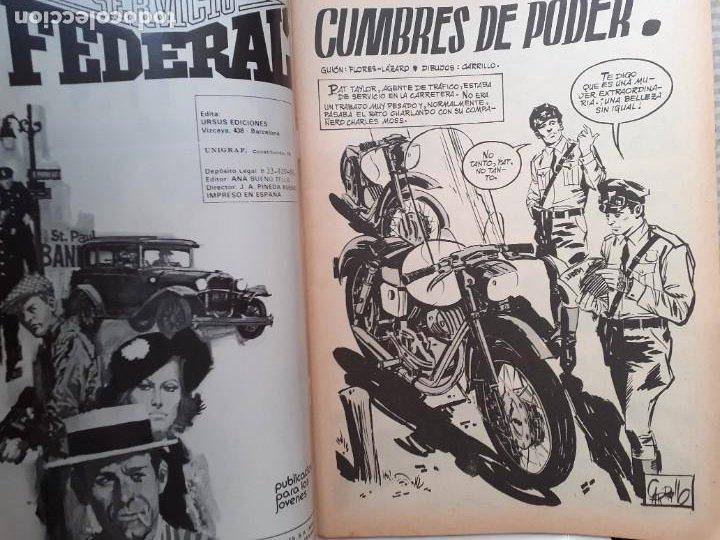Cómics: SERVICIO FEDERAL-VOL-2- Nº 3 -CUMBRES DE PODER-1980-GRAN A.CARRILLO-MUY BUENO-DIFÍCIL-LEA-3722 - Foto 4 - 217946098