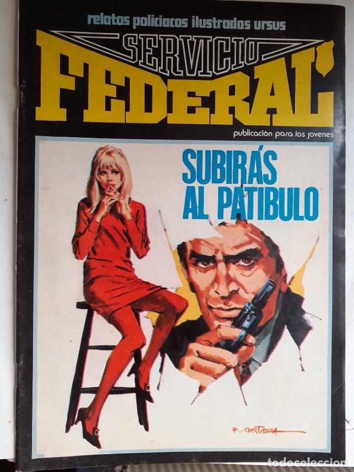 Cómics: SERVICIO FEDERAL-VOL-2- Nº 6 -SUBIRÁS AL PATÍBULO-ÚLTIMO DE LA COLECCIÓN-1980-HUÉSCAR-LEA-3723 - Foto 2 - 217946682