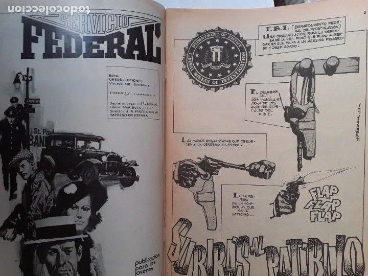 Cómics: SERVICIO FEDERAL-VOL-2- Nº 6 -SUBIRÁS AL PATÍBULO-ÚLTIMO DE LA COLECCIÓN-1980-HUÉSCAR-LEA-3723 - Foto 4 - 217946682