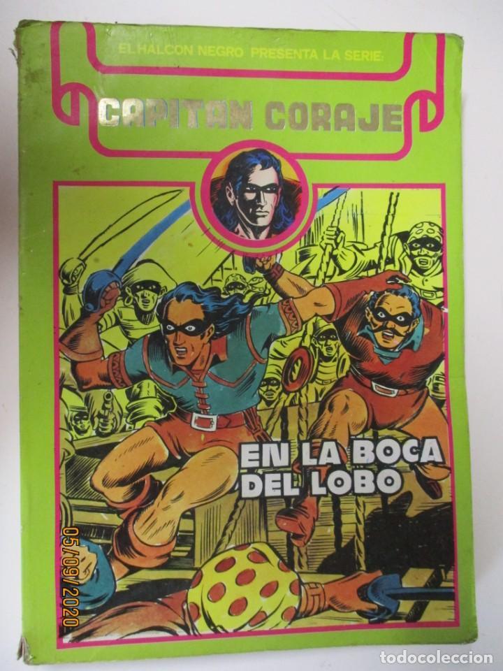 CAPITAN CORAJE, TOMO Nº 1 CONTIENE DEL Nº 1 AL 11 -EDITA : URSU (Tebeos y Comics - Ursus)