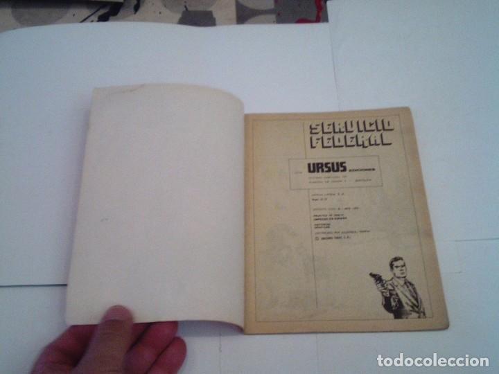 Cómics: SERVICIO FEDERAL - NUMERO 3 - EDICIONES URDUS - CJ 119 - GORBAUD - Foto 2 - 218188843