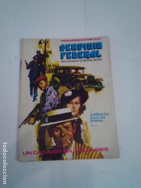 SERVICIO FEDERAL - UN CADAVER EN LAS NUBES - NUMERO 2 - ED URSUS - BUEN ESTADO - GORBAUD - CJ 119 (Tebeos y Comics - Ursus)