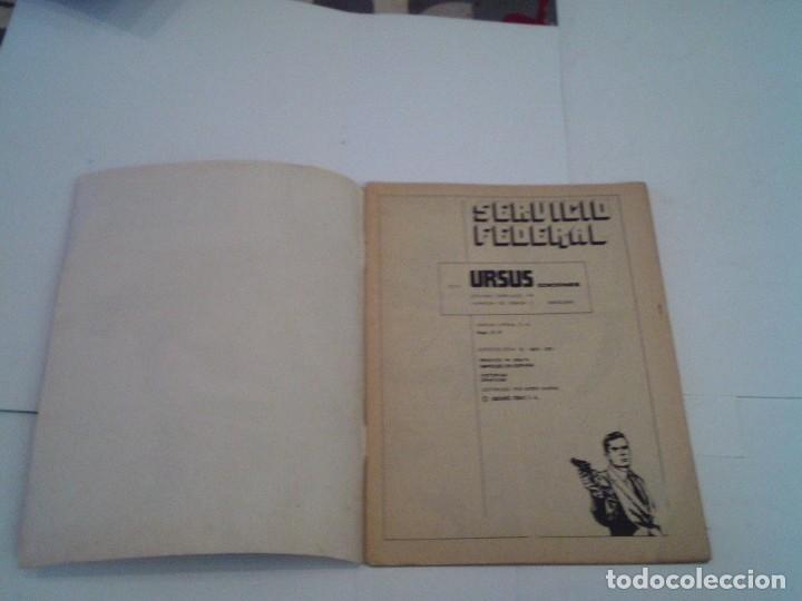 Cómics: SERVICIO FEDERAL - UN CADAVER EN LAS NUBES - NUMERO 2 - ED URSUS - BUEN ESTADO - GORBAUD - CJ 119 - Foto 2 - 218190092