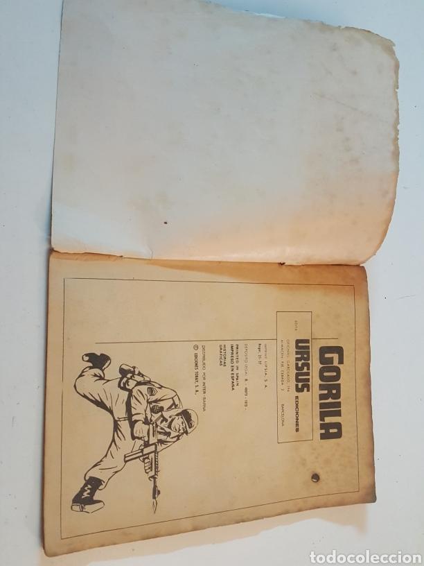 Cómics: Comic Gorila de Ursus Año 1973 N° 2 No tengo edad para morir - Foto 2 - 218246348