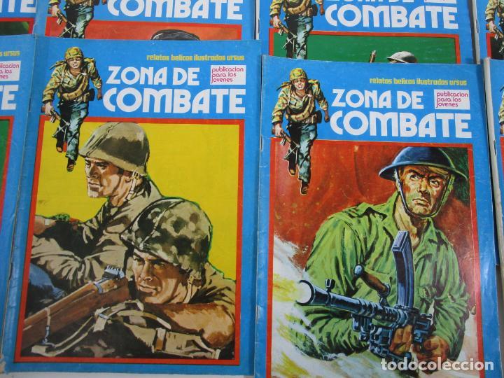 Cómics: Zona de Combate - Ediciones Ursu - 32 Números - II Guerra Mundial - Año 1973 - Foto 3 - 219873558