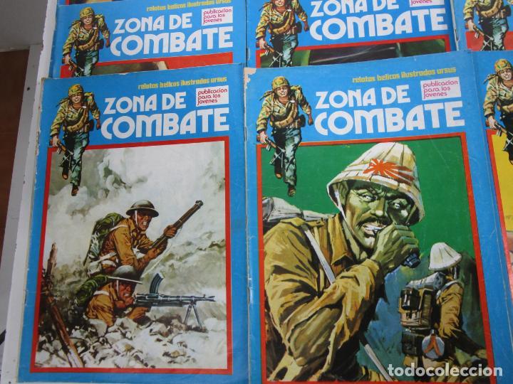 Cómics: Zona de Combate - Ediciones Ursu - 32 Números - II Guerra Mundial - Año 1973 - Foto 4 - 219873558