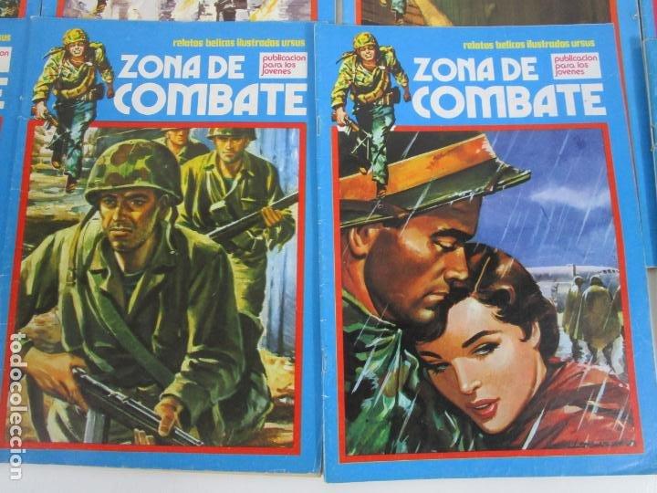Cómics: Zona de Combate - Ediciones Ursu - 32 Números - II Guerra Mundial - Año 1973 - Foto 5 - 219873558