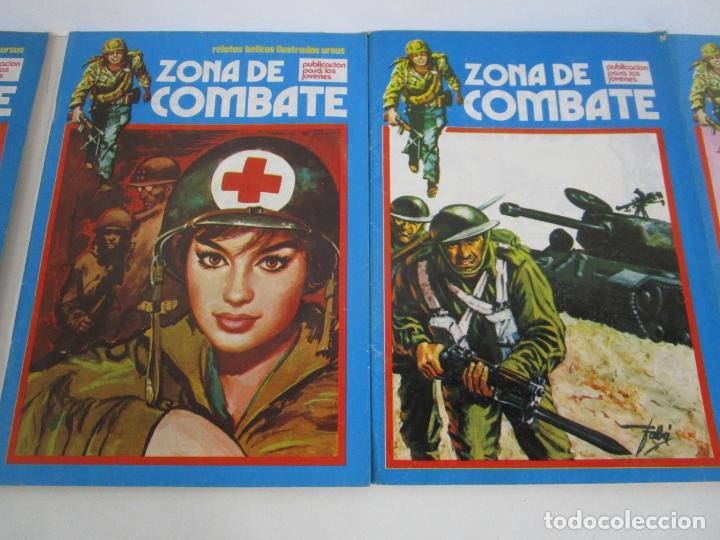 Cómics: Zona de Combate - Ediciones Ursu - 32 Números - II Guerra Mundial - Año 1973 - Foto 8 - 219873558