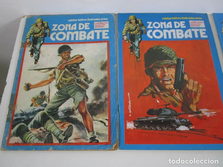 Cómics: Zona de Combate - Ediciones Ursu - 32 Números - II Guerra Mundial - Año 1973 - Foto 9 - 219873558