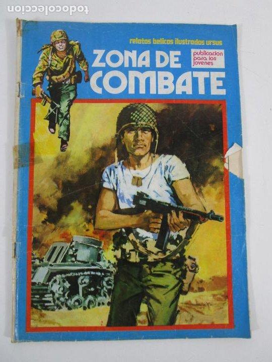 Cómics: Zona de Combate - Ediciones Ursu - 32 Números - II Guerra Mundial - Año 1973 - Foto 12 - 219873558