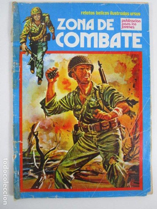 Cómics: Zona de Combate - Ediciones Ursu - 32 Números - II Guerra Mundial - Año 1973 - Foto 15 - 219873558