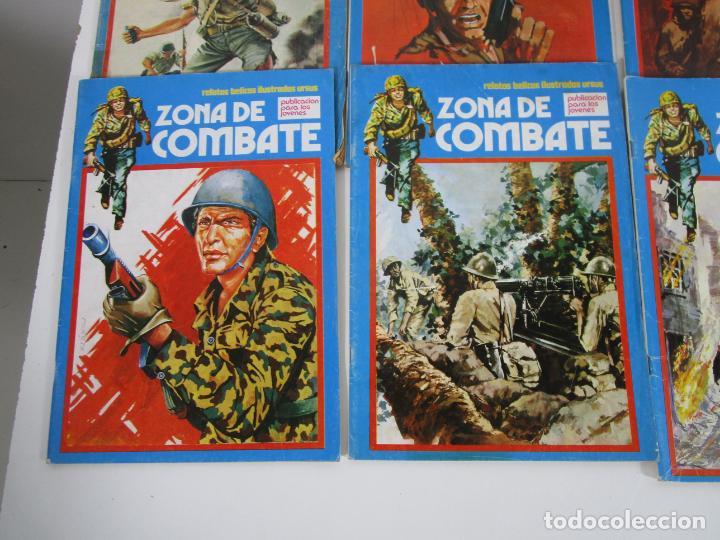 Cómics: Zona de Combate - Ediciones Ursu - 32 Números - II Guerra Mundial - Año 1973 - Foto 16 - 219873558