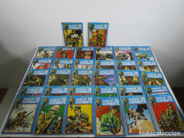 Cómics: Zona de Combate - Ediciones Ursu - 32 Números - II Guerra Mundial - Año 1973 - Foto 17 - 219873558