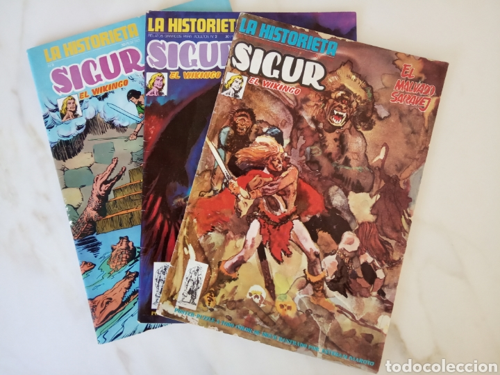 SIGUR EL VIKINGO (Tebeos y Comics - Ursus)