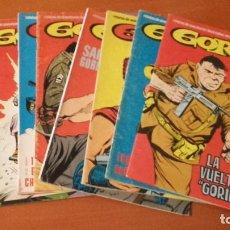 Cómics: GORILA EDICIONES URSUS COMPLETA 8 Nº VERTICAL. Lote 221578325