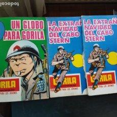 Cómics: LOTE 3 TEBEOS / CÓMIC GORILA N 14 Y 17 URSUS 1973 GUERRA. Lote 221927582