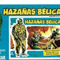 Cómics: HAZAÑAS BELICAS URSU SA - NUMERO 163. Lote 222037583