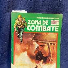 Cómics: RELATOS BELICOS ILUSTRADOS ZONA DE COMBATE PUBLICACION JOVENES EXTRA 27,5X19,5CMS. Lote 222600017