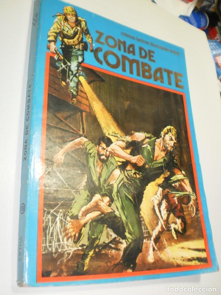 ZONA DE COMBATE EXTRA Nº 18 CONTIENE 117, 118, 119 Y 120 RETAPADOS (ESTADO NORMAL) (Tebeos y Comics - Ursus)
