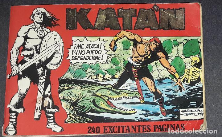 KATAN TOMO RETAPADO CON LOS Nº 6,7,8,9 Y 10 (URSUS) SESEN - BROCAL REMOHI 240 PAGS. 1980 (Tebeos y Comics - Ursus)