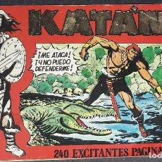 Cómics: KATAN TOMO RETAPADO CON LOS Nº 6,7,8,9 Y 10 (URSUS) SESEN - BROCAL REMOHI 240 PAGS. 1980. Lote 223009212