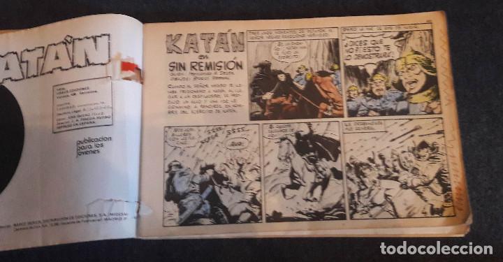 Cómics: KATAN Tomo Retapado con los Nº 6,7,8,9 y 10 (Ursus) Sesen - Brocal Remohi 240 pags. 1980 - Foto 2 - 223009212