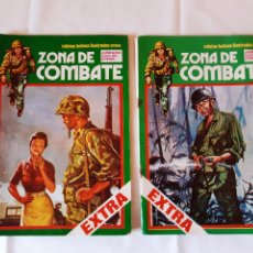 Cómics: LOTE 2 COMICS ZONA DE COMBATE. EXTRA NUMERO 4. EXTRA NUMERO 8. 1979.. Lote 225971885