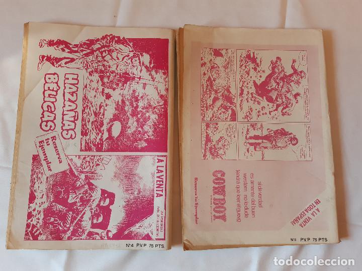 Cómics: LOTE 2 COMICS ZONA DE COMBATE. EXTRA NUMERO 4. EXTRA NUMERO 8. 1979. - Foto 2 - 225971885