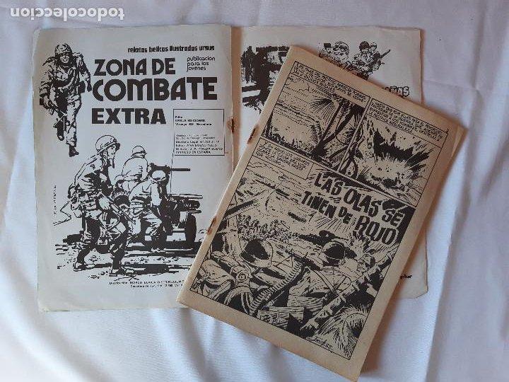 Cómics: LOTE 2 COMICS ZONA DE COMBATE. EXTRA NUMERO 4. EXTRA NUMERO 8. 1979. - Foto 4 - 225971885