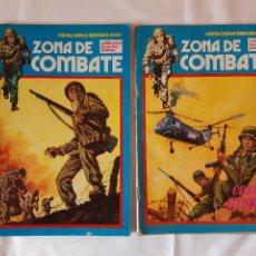 Cómics: LOTE 2 COMICS ZONA DE COMBATE. NUMERO 13. NUMERO 8. 1979. 1073.. Lote 225972636