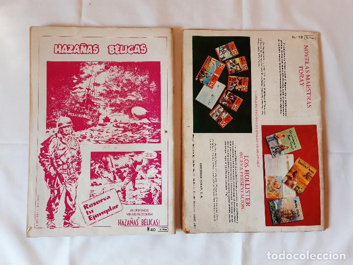 Cómics: LOTE 2 COMICS ZONA DE COMBATE. NUMERO 13. NUMERO 8. 1979. 1073. - Foto 2 - 225972636