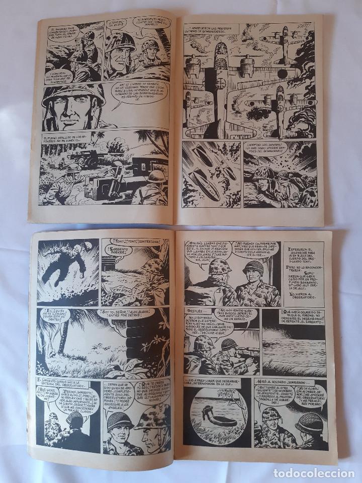 Cómics: LOTE 2 COMICS ZONA DE COMBATE. NUMERO 13. NUMERO 8. 1979. 1073. - Foto 3 - 225972636