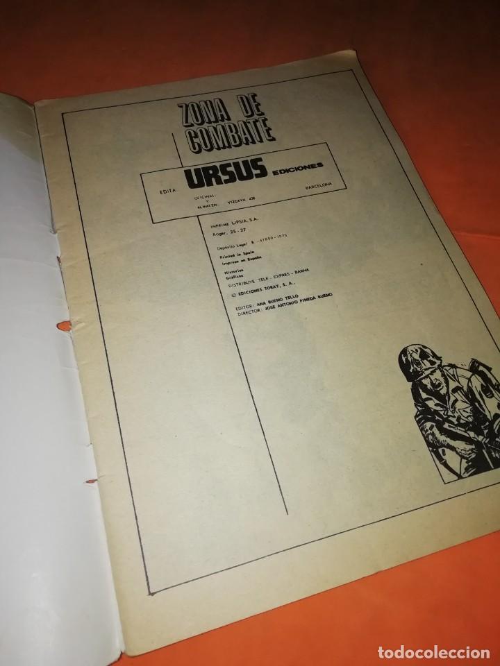 Cómics: ZONA DE COMBATE Nº 3. URSUS 1973. - Foto 2 - 229486700