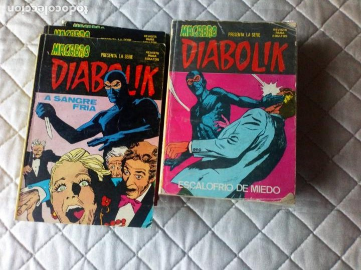 DIABOLIK Nº 1 AL 10 COMPLETA URSUS ORIGINAL MUY DIFÍCIL (Tebeos y Comics - Ursus)