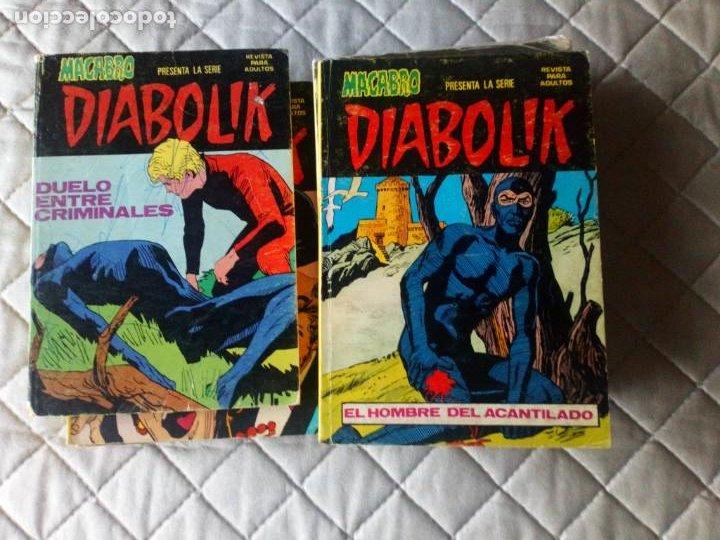 Cómics: Diabolik Nº 1 al 10 Completa URSUS ORIGINAL MUY DIFÍCIL - Foto 3 - 229568440