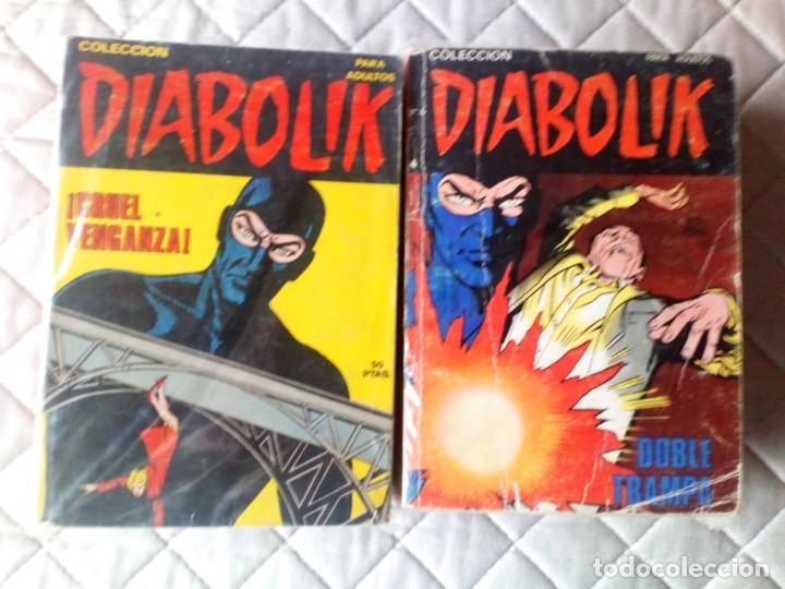 DIABOLIK MACABRO Nº 1-2-4-5-7-8-9-11-12-14-15-16-17-18 URSUS ORIGINAL MUY DIFÍCIL (Tebeos y Comics - Ursus)