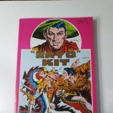 Cómics: RAYO KIT, COLECCIÓN COMPLETA, DEL N° 1 AL 12. 1982.. Lote 229958860