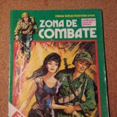 Cómics: COMIC DE ZONA DE COMBATE EN HAY QUIEN MUERE EN LA GUERRA Nº 37. Lote 230654310