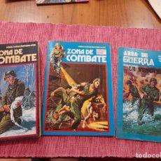 Comics : ZONA DE COMBATE, EXTRA Nº 11 Y Nº 123 URSUS 1973 Y AREA DE GUERRA Nº 26 1981. Lote 238245070