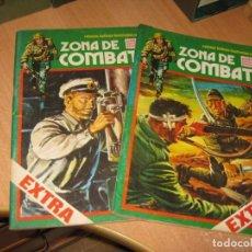 Cómics: 2 COMICS ZONA DE COMBATE. Lote 241086060