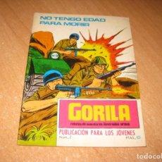 Cómics: COMIC NO TENGO EDAD PARA MORIR. Lote 242282575